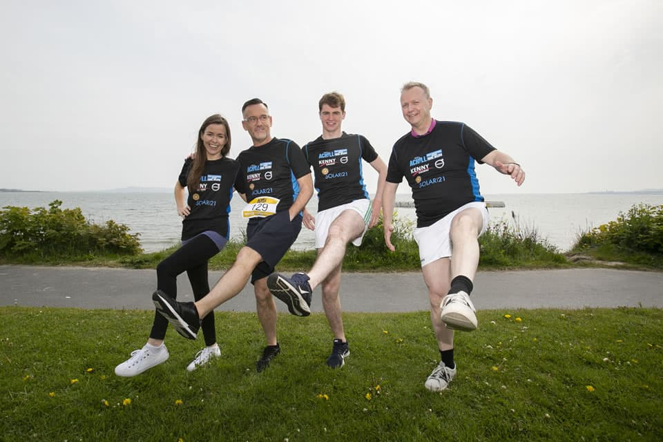 'Best foot forward' - TV presenters Matt Cooper and Brendan Courtney step up at the official launch of the 2019 Achill Half Marathon & 10K