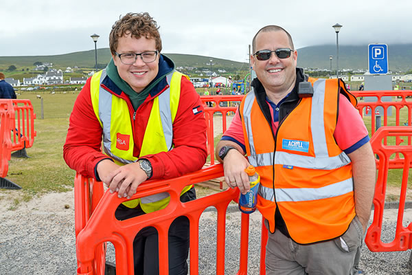 Stewards at 2018 Achill Half Marathon & 10K