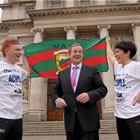 Official launch of 2012 Achill Half Marathon (Photo: Paul Mohan / SPORTSFILE)