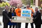 Official launch of 2015 Achill Half Marathon with Phil Cawley of Today FM