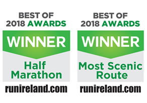 Run Ireland Double Award Winner 2018 Most Scenic Route & 2018 Best Half Marathon